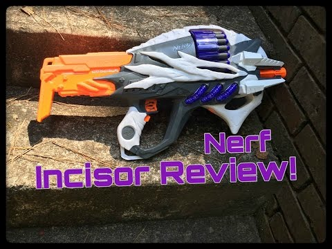 Honest Review: The Nerf Incisor (Alien Menace Flagship)