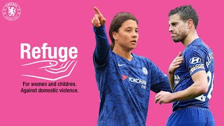 Gambar cover Chelsea FC Team Up With Domestic Abuse Charity Refuge