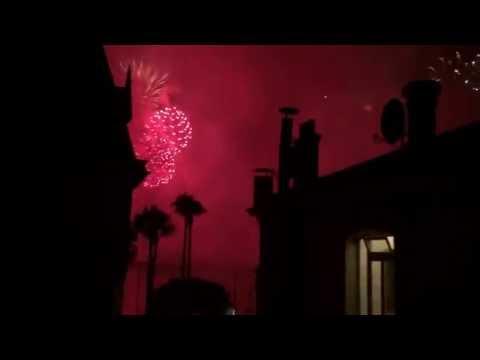 Fireworks Cannes - Cote d'Azur - France