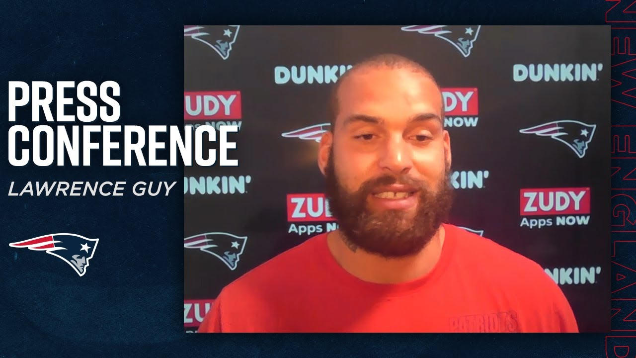 Lawrence Guy: We'll take it game by game, practice by practice | Press Conference