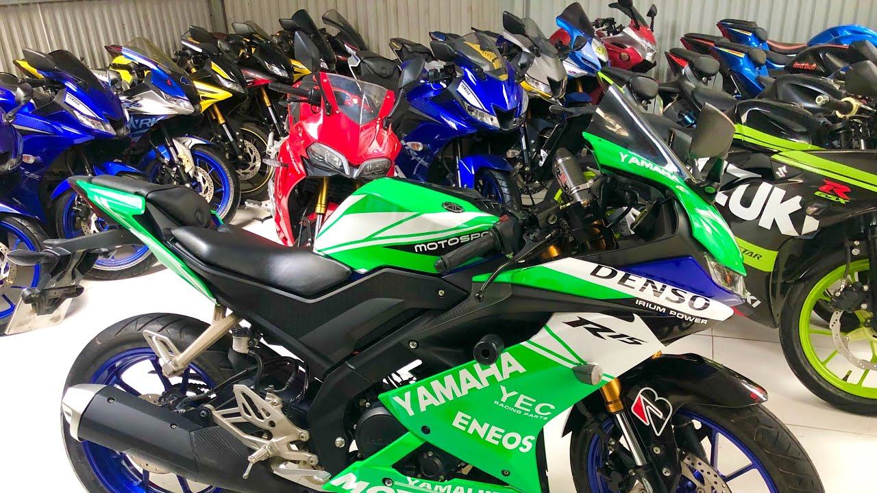 TẤN ĐẠT MOTOR Vừa Vẫy Tay Chào Bạn , Bán MT 15 , R15V3 , CBR150R , TFX Và Nhiều Xe Rẻ Quá 0934567836