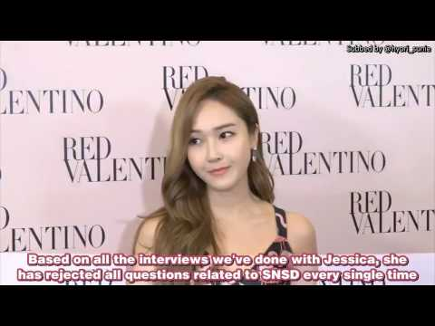 [ENGSUB] 170319 Jessica criticized for mentioning SNSD