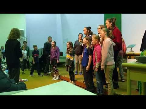 Geelong Youth Choir perform a new composition