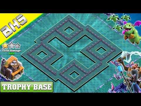 BEST Builder Hall 5 Base (BH5 Base) 2019 - Clash Of Clans