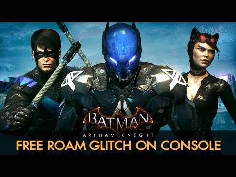 Batman: Arkham Knight - Free Roam with All Characters on PS4 and Xbox One