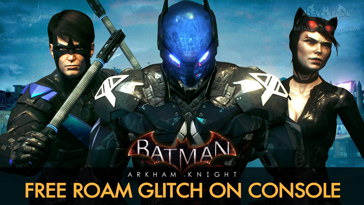 Knight free roam with all characters on ps4 and xbox one youtube