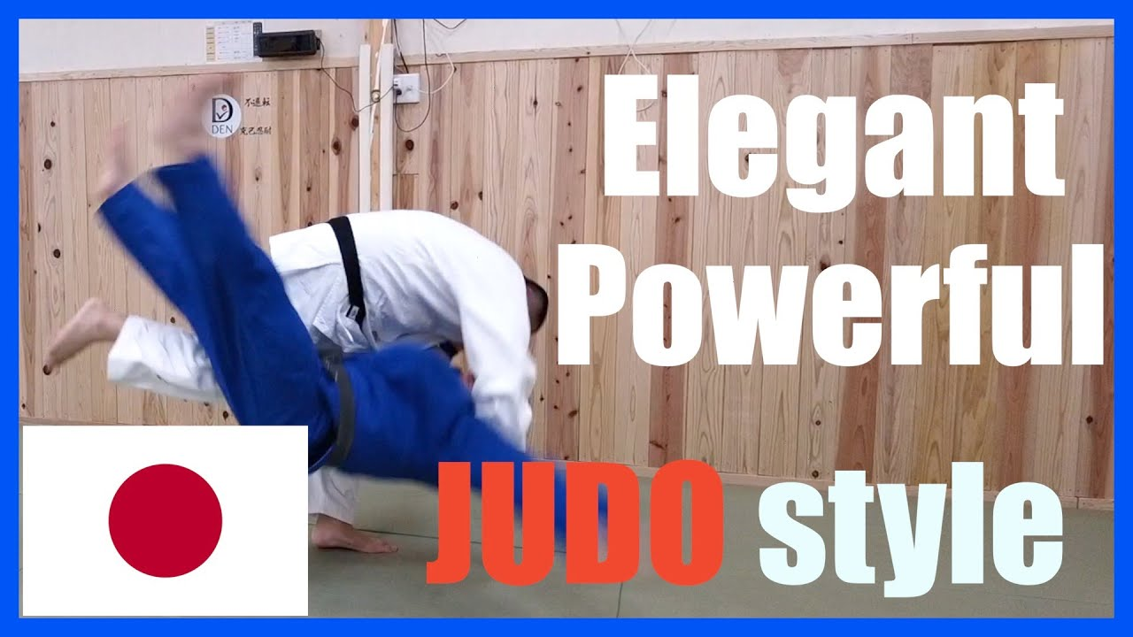 Download The elegant and powerful Japanese judo style