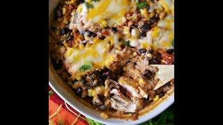 Salsa Chicken Rice Casserole Recipe And Pics
