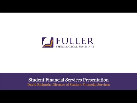 Student Financial Services Presentation