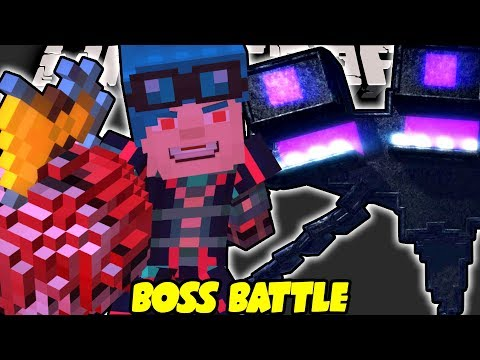 ADMIN DanTDM - WITHER STORM BOSS BATTLE!! - Minecraft Story Mode
