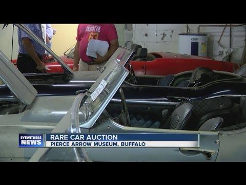 Rare car auction in Buffalo