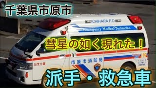 (92) 日本では珍しい派手な救急車!
