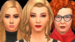 AHS السحرة - The Sims 4 | إنشاء سيم