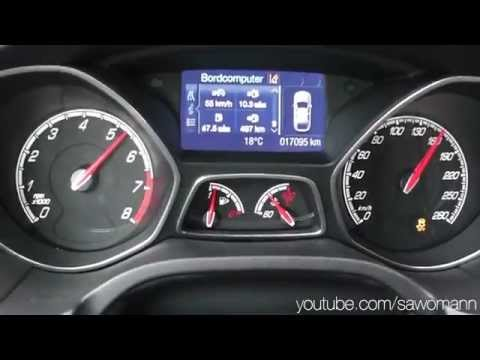 2013 Ford Focus ST 250 HP 0-100 km/h & 0-100 mph Acceleration GPS