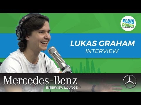 Lukas Graham on Being a Father | Elvis Duran Show