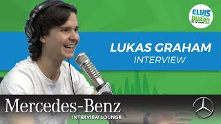 Lukas Graham on Being a Father | Elvis Duran Show Video