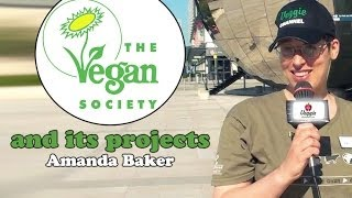 The Vegan Society and its projects - Amanda Baker