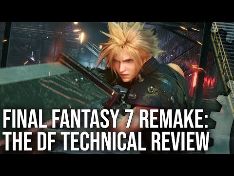 Final Fantasy 7 Remake - Digital Foundry Tech Review - Beautiful, But Not Flawless