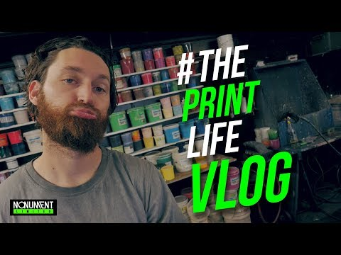 T Shirt Printing Vlog: Google home a screen printers assistant.