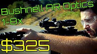 Bushnell 1-8x AR Optics Review - BTR-1 Reticle - High Value/Budget LPVO