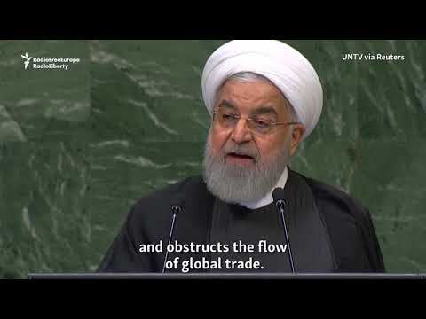 Rohani Calls U.S. Sanctions 'Economic Terrorism'