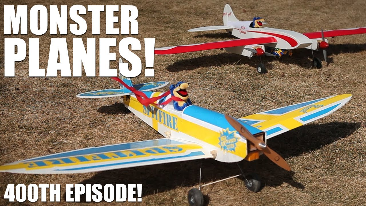 Flite Test - Monster Planes - 400th Episode - YouTube