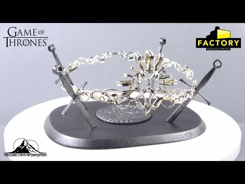 Factory Entertainment Game Of Thrones CROWN OF CERSEI LANNISTER Prop Replica Video Review
