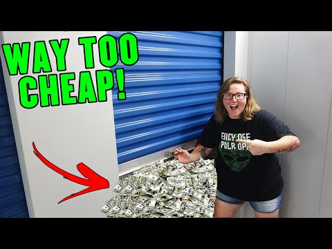Storage Unit Sold WAY TOO CHEAP! MADE BANK! I Bought an Abandoned Storage Unit! Storage Auction