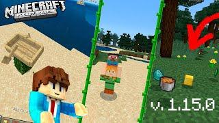 Minecraft 1.15.0 УЖЕ ВЫШЕЛ!!! ПОДРОБНЫЙ ОБЗОР (Майнкрафт ПЕ 1.15 НА ТЕЛЕФОН)