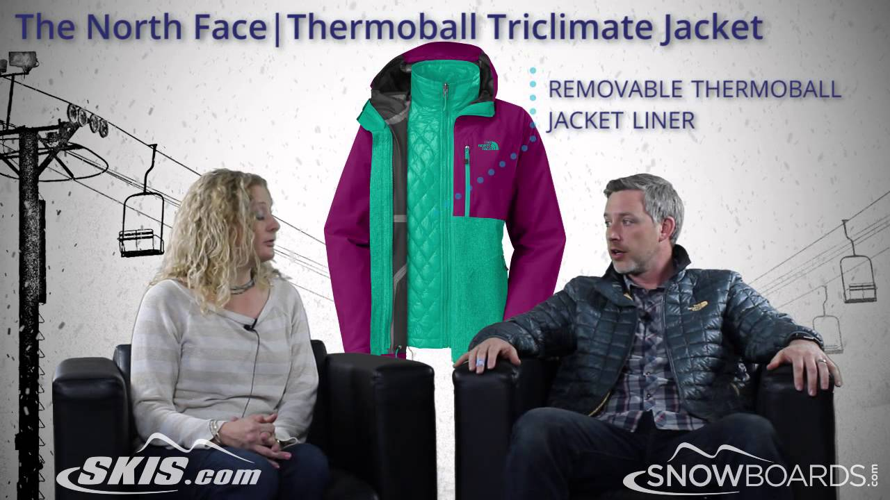 e809b1d6b565f 2015 The North Face Thermoball Triclimate Womens Jacket Overview by  SkisDOTcom and SnowboardsDOTcom