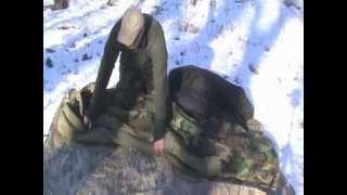 Winter Camping- M.S.S. (Military Sleep System)