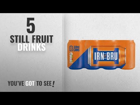 Top 10 Still Fruit Drinks [2018]: IRN-BRU Cans, 8 x 330 ml
