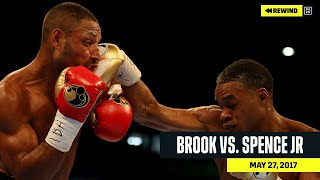 FULL FIGHT | Kell Brook vs. Errol Spence Jr. (DAZN REWIND)