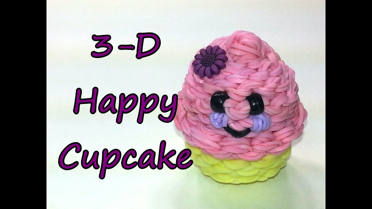 How To Make A D Cake Out Of Loom Bands
