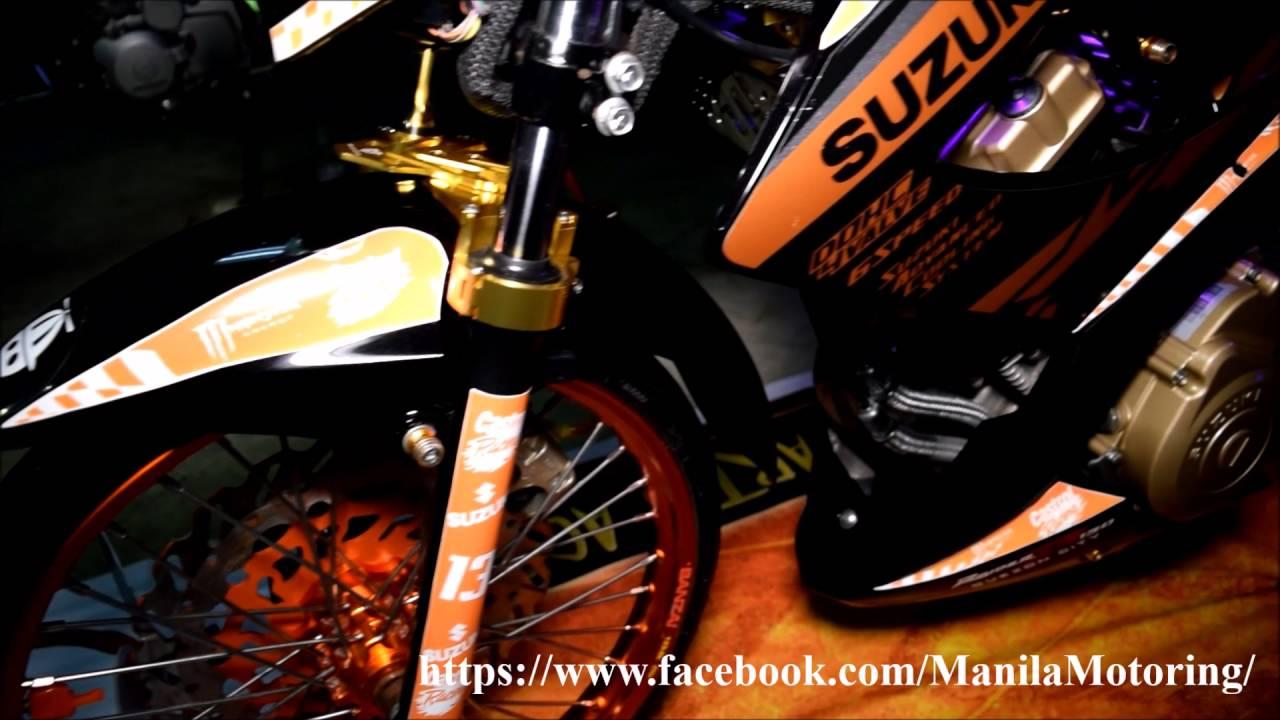 Customized Suzuki Raider 150R - Dark setup!