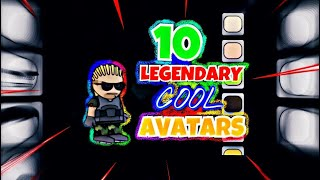 10 FREE COOL LOOKING AVATARS FOR DA2! [ Doodle Army 2: Mini Militia ]