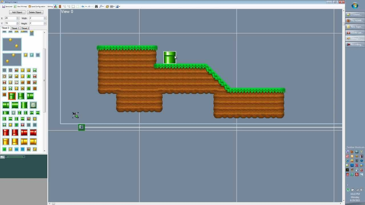 New super mario bros ds level editor tutorial 02 objects and tiles new super mario bros ds level editor tutorial 02 objects and tiles youtube gumiabroncs Image collections
