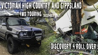 DISCOVERY 4 ROLLOVER | 4WD Victorian High Country [2018] | LANDCRUISER 105 & 80 4wd | ALLOFFROAD#137