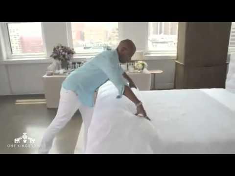 Как застелить постель идеально