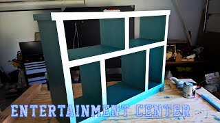 My Next Project:  Entertainment Center