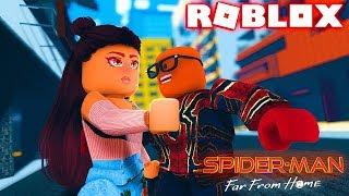 SPIDER-MAN longe de casa filme em Roblox