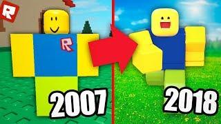 ЭВОЛЮЦИЯ РОБЛОКСА 2007-2018 | Roblox