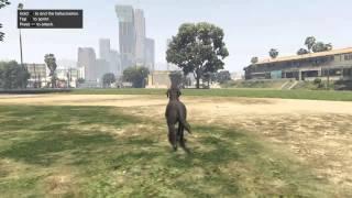 Grand Theft Auto V Skate Park Peyote Location/Animal Gameplay