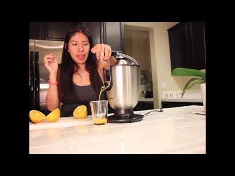Eurolux ELCJ-1700 Electric Citrus Juicer Squeezer, for Orange, Lemon, Grapefruit