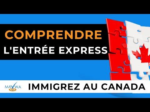 Immigrer au Canada : Entrée express 2016 (travailleurs qualifiés)