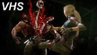 """Mortal Kombat 11 - Трейлер """"Кэсси Кейдж"""" на русском - VHSник"""