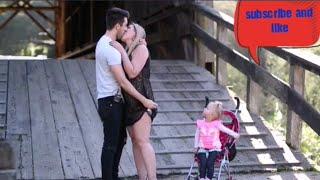 Mother kissing prank hot sex cumshot