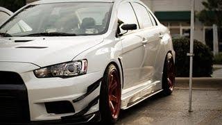 Jazda za kierownicą Mitsubishi Lancer Evo X – Tor Łódź video
