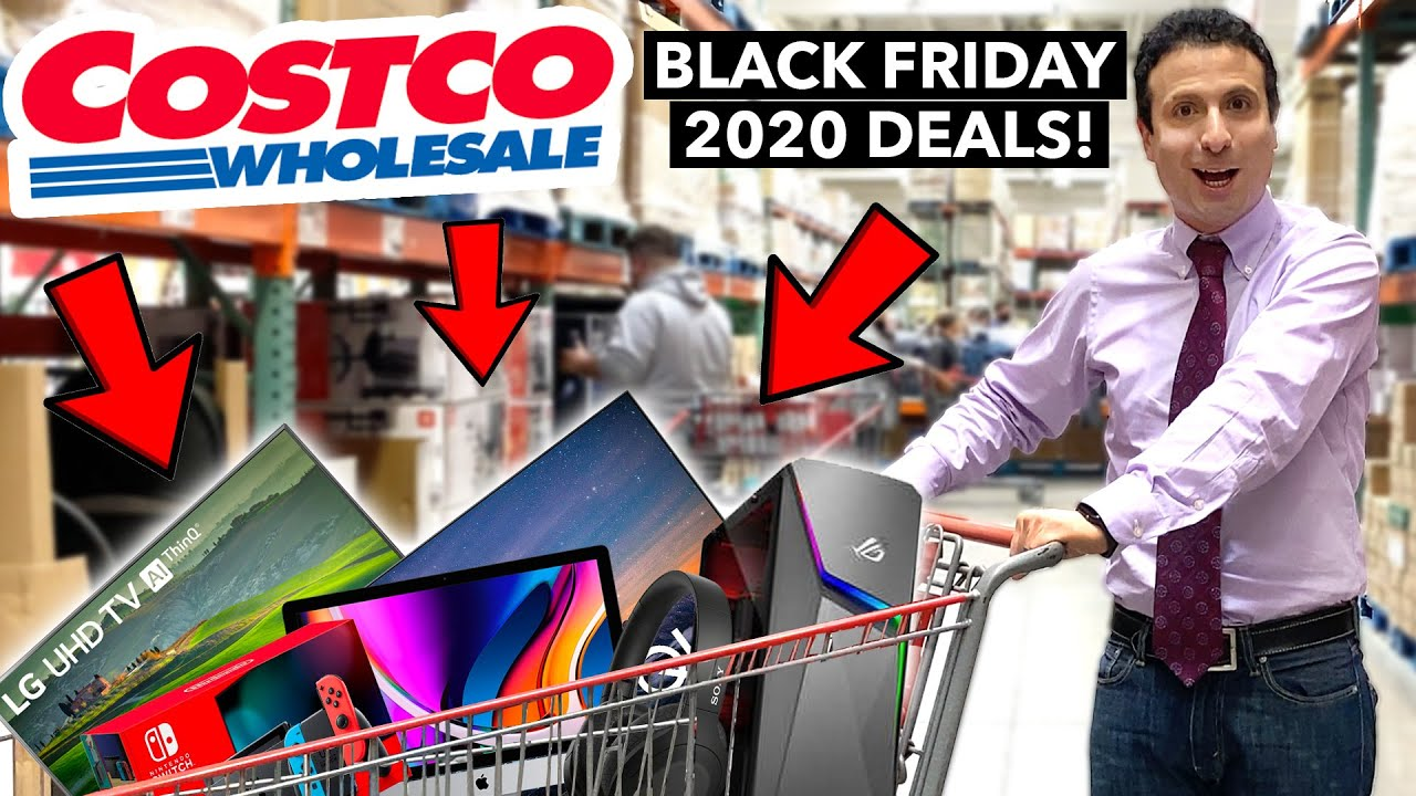 Top 10 Costco Black Friday Deals 2020 Youtube