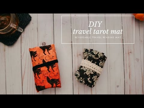DIY Travel Tarot Mat